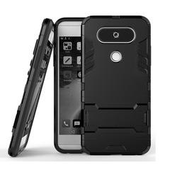 Shinwo LG V20 Mini / LG Q8 / V20S Smartphone Case Rugged Armor [Drop-protection] with Kickstand black for LG V20 Mini / LG Q8 / V20S Smartphone