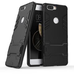Hot Sale  ZTE Nubia Z17 Z17 Mini Smartphone Phone Case Rugged Armor [Drop-protection] with Kickstand black for ZTE Nubia Z17 Smartphone