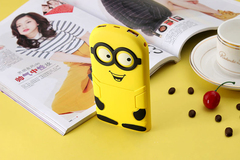 Portable Solar Power Bank Lovely Minion Charger 8000mah 1 ( capacity 8000mah)