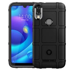 Hot Sale Xiaomi Mi Play Smartphone Rugged Shield Silicone Heavy Duty Armor Shock-Proof Phone Case black for Xiaomi Mi Play Smartphone