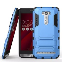 Asus ZenFone 2 Laser 6.0 Inch (ZE601KL) Case Rugged Armor [Drop-protection] with Kickstand Blue for Asus ZenFone 2 Laser 6.0 Inch (ZE601KL)