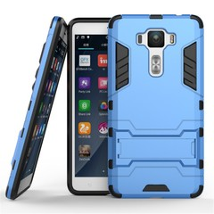ASUS ZenFone 3 Deluxe ZS550KL 5.5-Inch Case Rugged Armor [Drop-protection] with Kickstand Blue for ASUS ZenFone 3 Deluxe ZS550KL 5.5-Inch