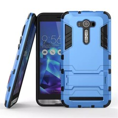 Asus ZenFone 2 Laser 5.5 Inch (ZE550KL) Case Rugged Armor [Drop-protection] with Kickstand Blue for Asus ZenFone 2 Laser 5.5 Inch (ZE550KL)