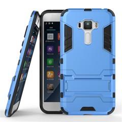 Asus Zenfone 3 ZE552KL 5.5'' Smartphone Case Rugged Armor [Drop-protection] with Kickstand Blue for Asus Zenfone 3 ZE552KL 5.5''