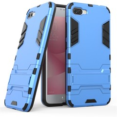ASUS ZenFone 4 MAX 5.5 Inch (ZC554KL) Case Rugged Armor [Drop-protection] with Kickstand Blue for ASUS ZenFone 4 MAX 5.5 Inch (ZC554KL)