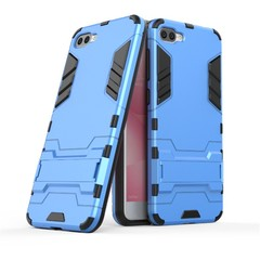 ASUS ZenFone 4 Max (ZC520KL) 5.2 inch Case Rugged Armor [Drop-protection] with Kickstand Blue for ASUS ZenFone 4 Max (ZC520KL) 5.2 inch
