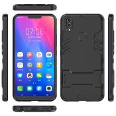 Hot Sale VIVO V9 / Y85 Smartphone Case Rugged Armor [Drop-protection] with Kickstand Black for VIVO V9 / Y85