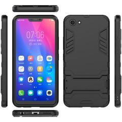 Hot Sale VIVO Y83 Smartphone Case Rugged Armor [Drop-protection] with Kickstand Black for VIVO Y83