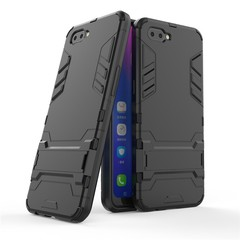 Hot Sale Shinwo OPPO A5 / A3S Smartphone Phone Case Rugged Armor [Drop-protection] with Kickstand Black for OPPO A5 / A3S