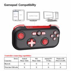 IPEGA PG-9085 Bluetooth Gamepad Wireless Game Controller Black One Size