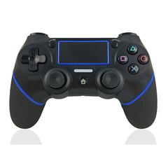 Hot Sale DualShock 4 Wireless Controller for PlayStation 4 Black+Blue one size