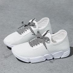 Fashion Women Sneakers Air-cushion Sports Shoes Running Shoes White 35