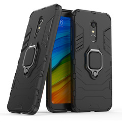 Hot Sale Xiaomi Redmi 5 Plus Case Rugged Armor [Drop-protection] with Car Magnetic Ring Holder black for Xiaomi Redmi 5 Plus