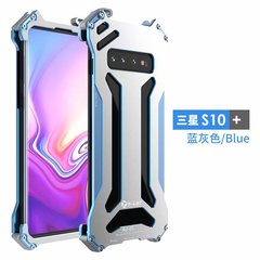 Samsung Galaxy S10 S10 Plus S10 Lite / S10e 5.8'' Metal Frame Full Body [Drop-Protection] Casing Blue for Samsung Galaxy S10 Smartphone