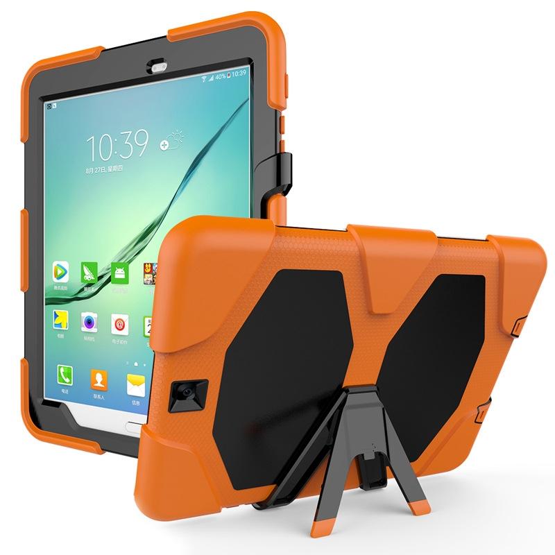 huge discount 0d02a 79210 Samsung Galaxy Tab A 10.1 2016 Tab E 9.6 Tab A 9.7 Tab S2 9.7 Case Cover  TPU + PC with Kickstand Black for Samsung Galaxy Tab A 10.1 2016 T580 T585