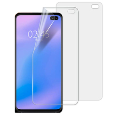 Shinwo [2-Pack]-Samsung Galaxy S10 Plus (2019) [Bubble Free] [Full Coverage Screen Protector] Clear White for Samsung Galaxy S10 Plus (2019)