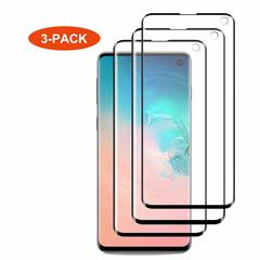 [3 Pack] Samsung Galaxy S10e S10 Lite [3D Full Coverage] HD Clear Invisible PET Screen Protector Black for Samsung Galaxy S10e (2019)