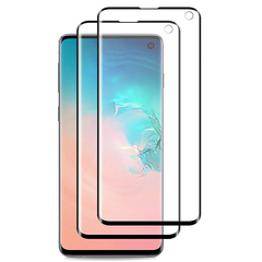 [2 Pack] Samsung Galaxy S10e S10 Lite [3D Full Coverage] HD Clear Invisible PET Screen Protector Black for Samsung Galaxy S10e (2019)