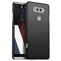 LG V20 Case, Minimalistic Design Thin Fit Cover with Scratch Resistant Anti Fingerprint Surface black for LG V20 2016