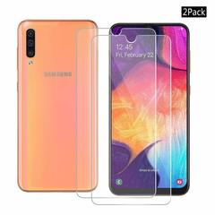 Shinwo [2-Pack] Samsung Galaxy A50 [HD Clear 9H Tempered Glass] Screen Protector Clear White for Samsung Galaxy A50 (2019)