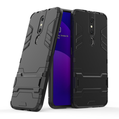 Hot Sale Shinwo OPPO F11 Pro  Phone Case Rugged Armor [Drop-protection] with Kickstand black for OPPO F11 Pro