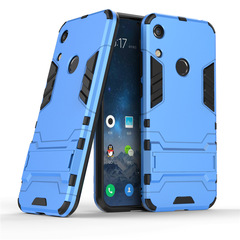 Ready Stock Huawei Y6 2019 / Y6 Prime 2019 Phone Case Rugged Armor [Drop-protection] with Kickstand navy for Huawei Y6 2019 / Y6 Prime 2019