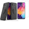 [1-Pack] Samsung Galaxy A30 / Galaxy A20 Phone Case + [HD Clear Tempered Glass] Screen Protector Black for Samsung Galaxy A30 / Galaxy A20