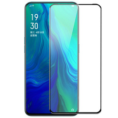 Screen Protector For OPPO F11 Pro [Tempered Glass] [Full Screen Glue Cover] Screen Protector black for OPPO F11 Pro - 1 Pack