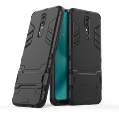 Ready Stock OPPO F11 OPPOA9 Phone Case Rugged Armor [Drop-protection] with Kickstand black for OPPO F11