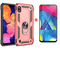 [1-Pack] Samsung Galaxy A10 Phone Case + [HD Clear Tempered Glass] Screen Protector rose gold for Samsung Galaxy A10