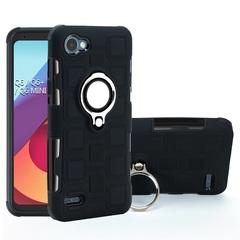 Phone Case for LG Q6 LG Q6 Plus LG Q6 Mini with Car Magnetic Ring Holder black for LG Q6