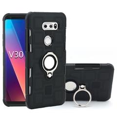 Shinwo - Phone Case for LG V30 6.0inch with Car Magnetic Ring Holder black for LG V30 6.0inch