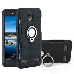 Shinwo - Phone Case for ZTE A520 ZTE 602 ZTE L7 with Car Magnetic Ring Holder black for ZTE A520