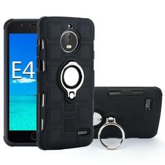 Shinwo - Phone Case for Motorola Moto E4 Moto E4 Plus with Car Magnetic Ring Holder black for Motorola Moto E4