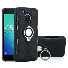 Shinwo - Phone Case for Motorola Moto G5 Moto G5 Plus with Car Magnetic Ring Holder black for Motorola Moto G5