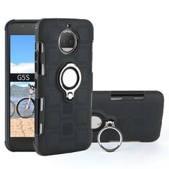 Shinwo - Phone Case for Motorola Moto G5S Moto G5S Plus with Car Magnetic Ring Holder black for Motorola Moto G5S