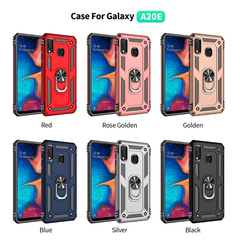 Shinwo - Phone Case for Samsung Galaxy A20e with Car Magnetic Ring Holder rose gold for Samsung Galaxy A20e