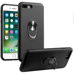Case for iPhone 6 iPhone 7 iPhone 8 iPhone 7 Plus iPhone 8 Plus with Car Magnetic Ring Holder black for iPhone 6 / iPhone 6S