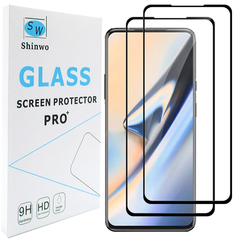 2-PACK For Huawei Y9 Prime 2019 P Smart Z [Tempered Glass] [Full Screen Glue Cover] Screen Protector black for Huawei Y9 Prime 2019