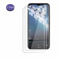Shinwo [2-Pack] Nokia 2.2 Nokia 4.2 [HD Clear 9H Tempered Glass] Screen Protector clear white for Nokia 2.2