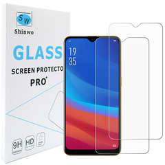 Shinwo [2-Pack] OPPO A7 OPPO A7X [HD Clear 9H Tempered Glass] Screen Protector clear white for OPPO A7