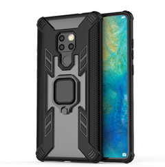 Phone Case for Huawei Mate 20 Mate 20 Pro Mate 20X [Drop-protection] with Car Magnetic Ring Holder Huawei Mate 20 - Black for Huawei Mate 20