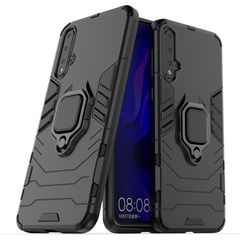 Phone Case for Huawei Nova 5 Huawei Nova 5 Pro [Drop-protection] with Car Magnetic Ring Holder black for Huawei Nova 5