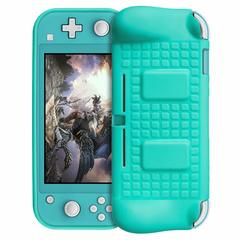 Silicone Protective Case for Nintendo Switch Lite with 2 Game Card Slot green One Size