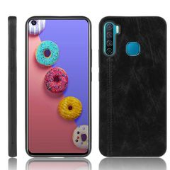 Phone Cover for Infinix S5 / S5 Lite Shockproof TPU Leather Phone Case Black for Infinix S5 / S5 Lite