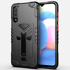 Phone Case for Samsung Galaxy A30s A50s Rugged Armor Military Grade Protection with Kicstand Black for Samsung Galaxy A30S / Galaxy A50S