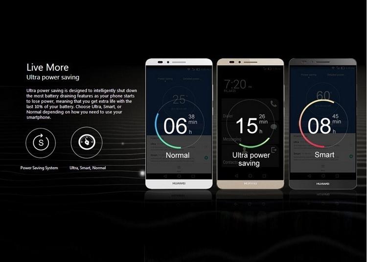 Refurbished Smartphone Huawei Mate 7 3GB+32GB -6''13+5 MP- Double SIM-4100mAh smartphone silver 2g+16g 6