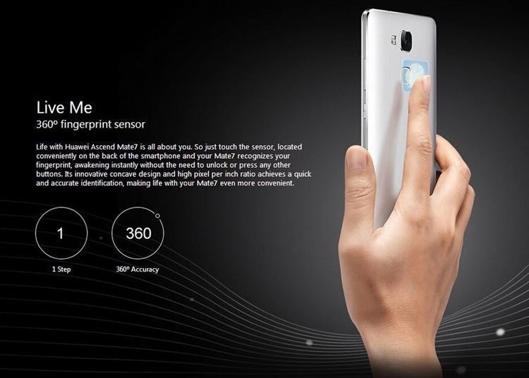 Refurbished Smartphone Huawei Mate 7 3GB+32GB -6''13+5 MP- Double SIM-4100mAh smartphone silver 2g+16g 9