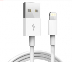 Apple Apple data cable original mobile phone data cable / charging cable for iPhone5S/6/7/8/X/iPad white one size