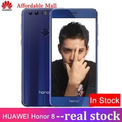 Certified Refurbished: Huawei honor 8 - 5.2 Inch - 4GB+32GB - Double12MP + 8MP - 3000 mAh battery blue 4GB+32GB